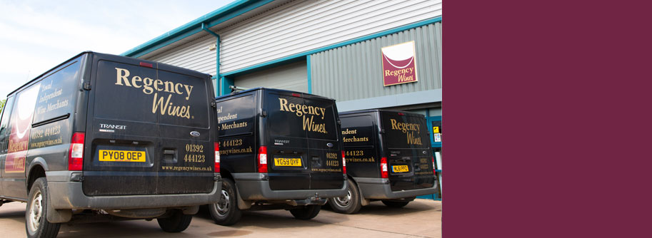 Regency Wines, Exeter offer wines from around the world throughout the South West